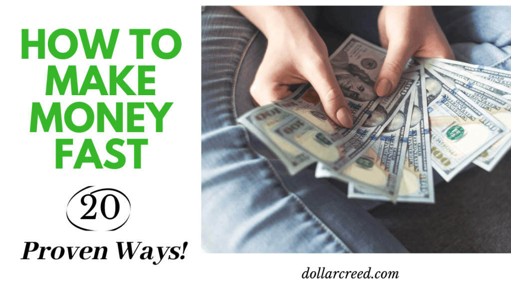 image of how to make money fast