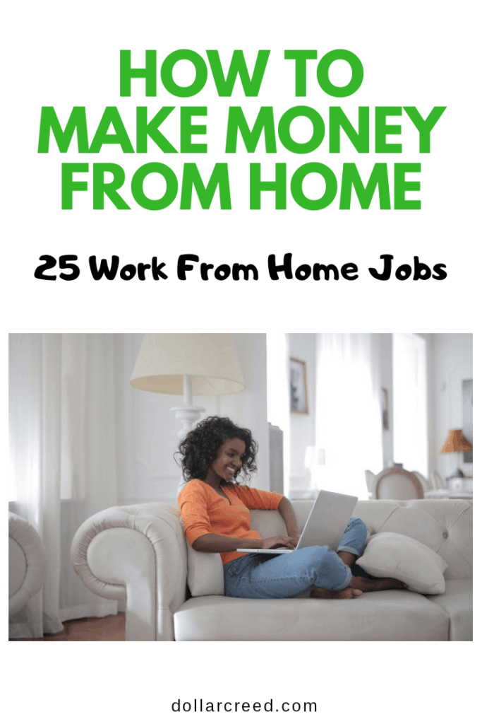 pin image of how to make money from home
