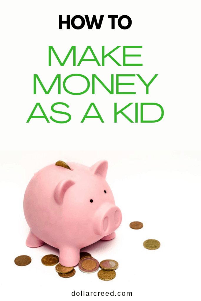 Pin Image of How to make money as a kid