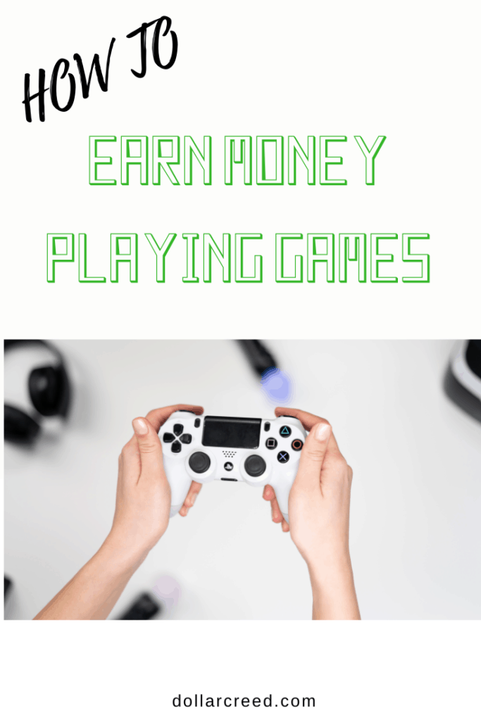 Pin Image of How To earn money playing games