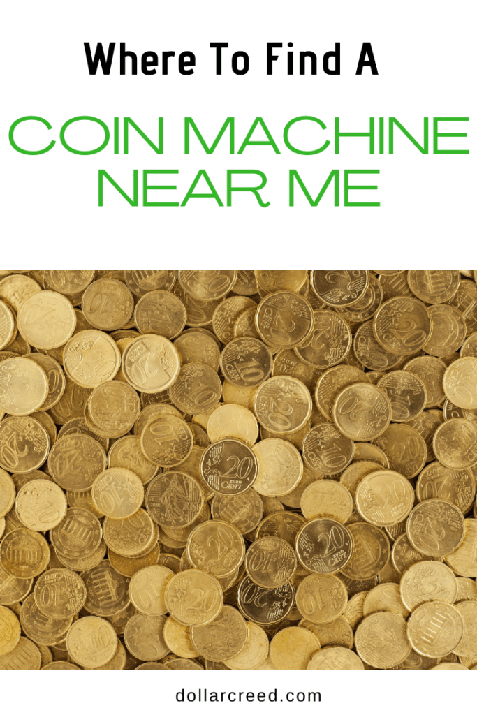Pin Image of Coin Machine Near Me