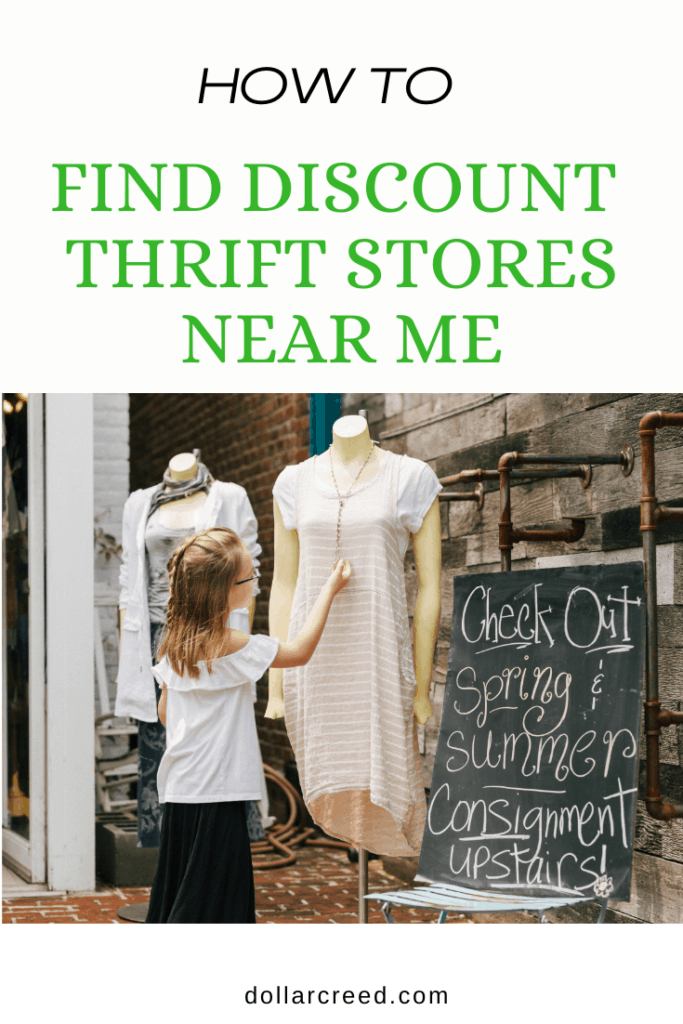 Pin Image of Thrift Stores Near Me