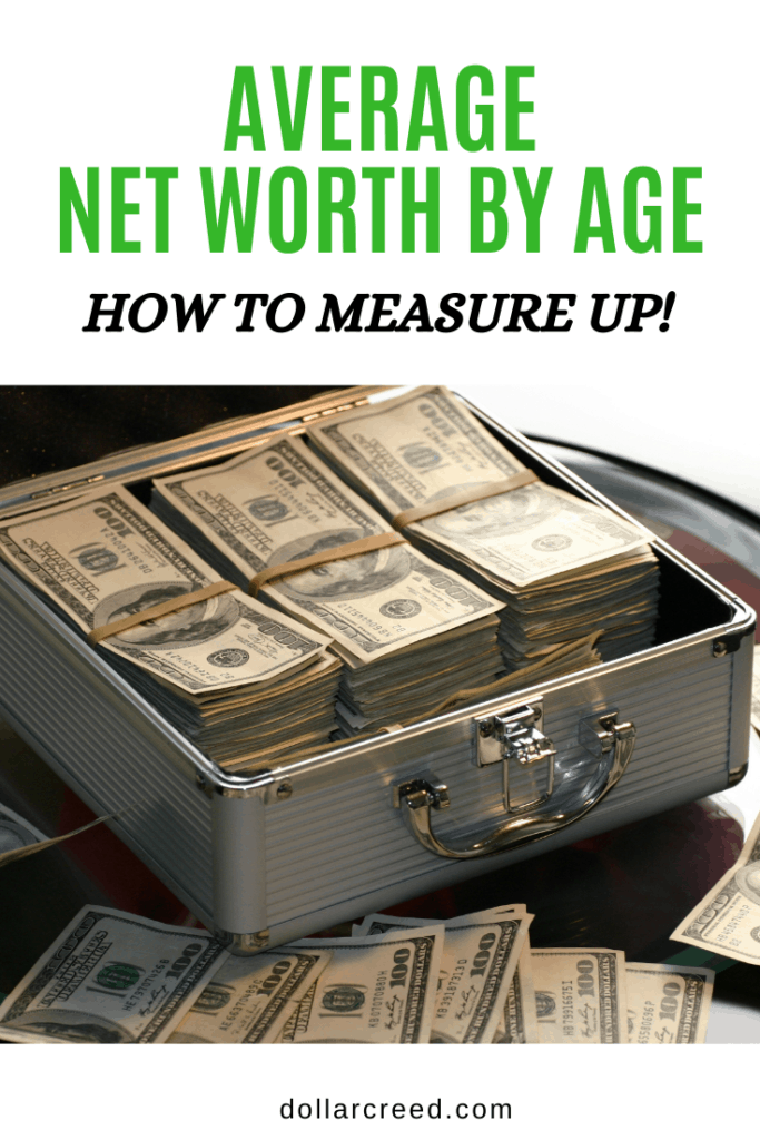 Pin Image Of Average Net Worth By Age