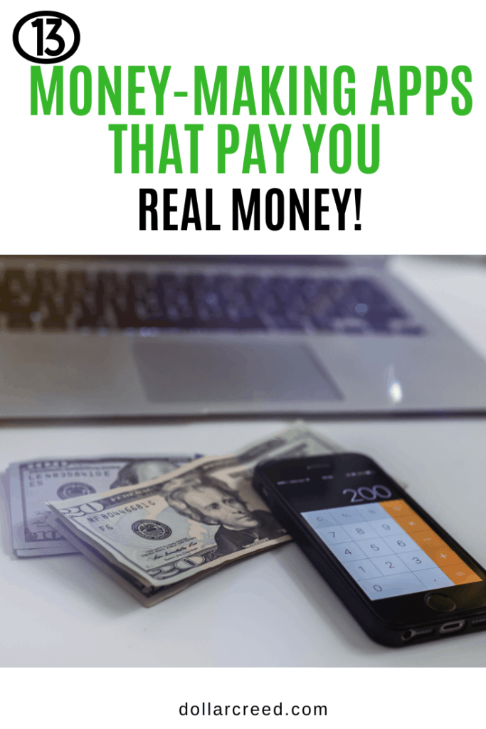 Pin image of money-making apps