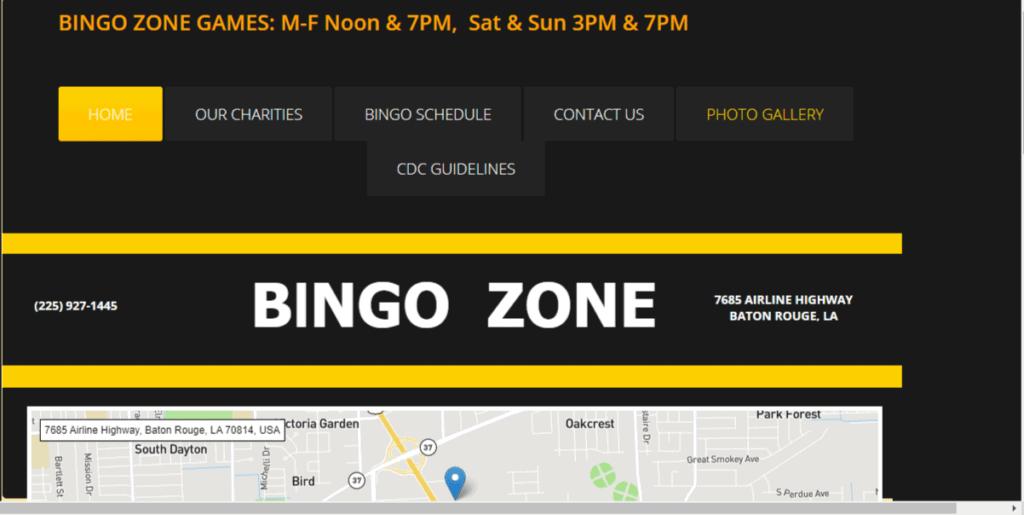 Photo of Bingo website