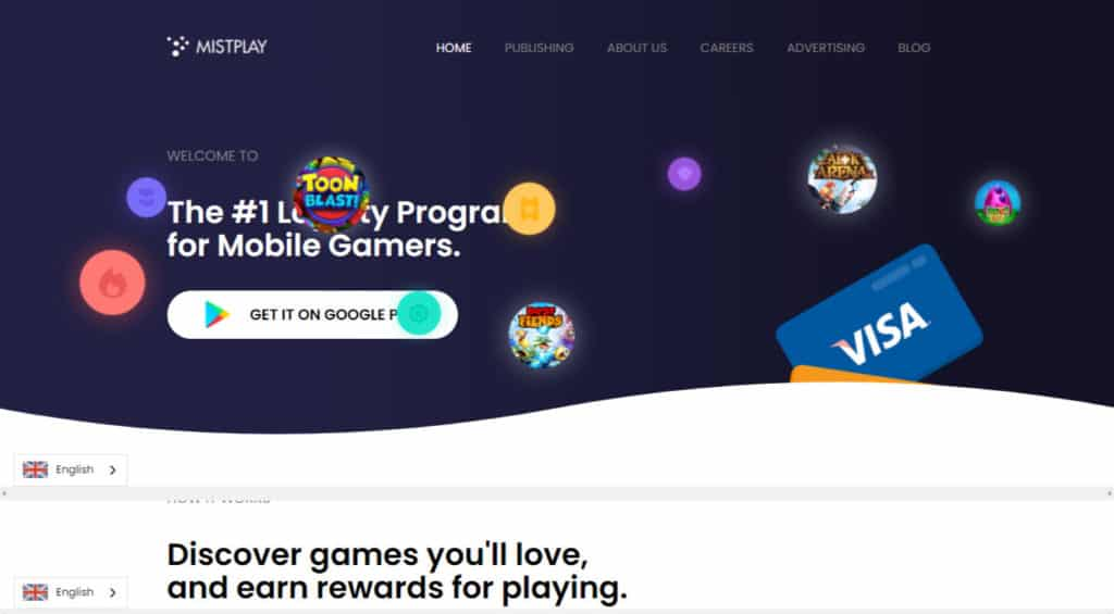 Photo of Mistplay; an online gaming site