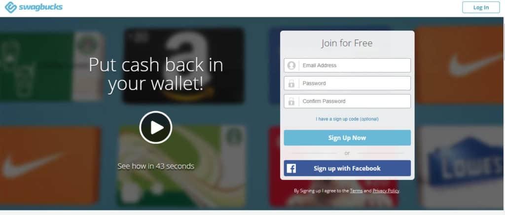 Photo of Swagbucks; a money-making app
