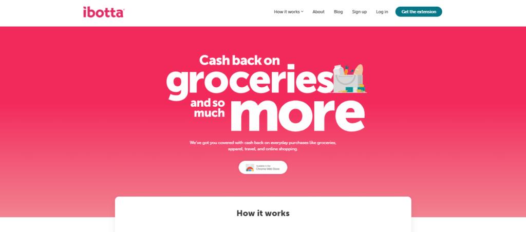 Photo of Ibotta; a money-making app