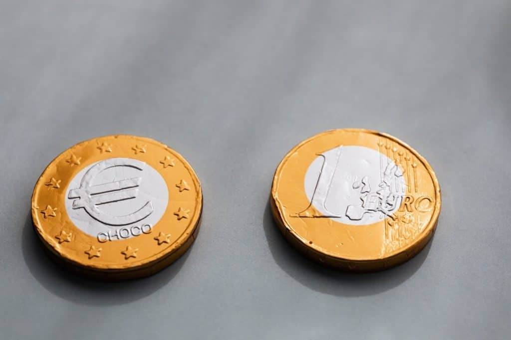 Photo of two coins
