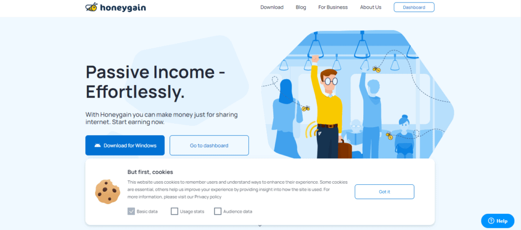 Photo of Honeygain; a money-making app