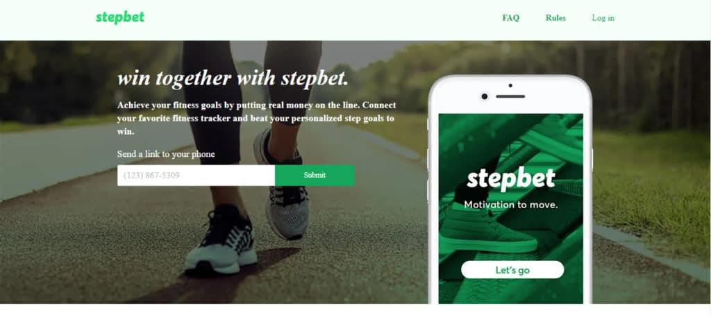 Photo of StepBet; a money-making app