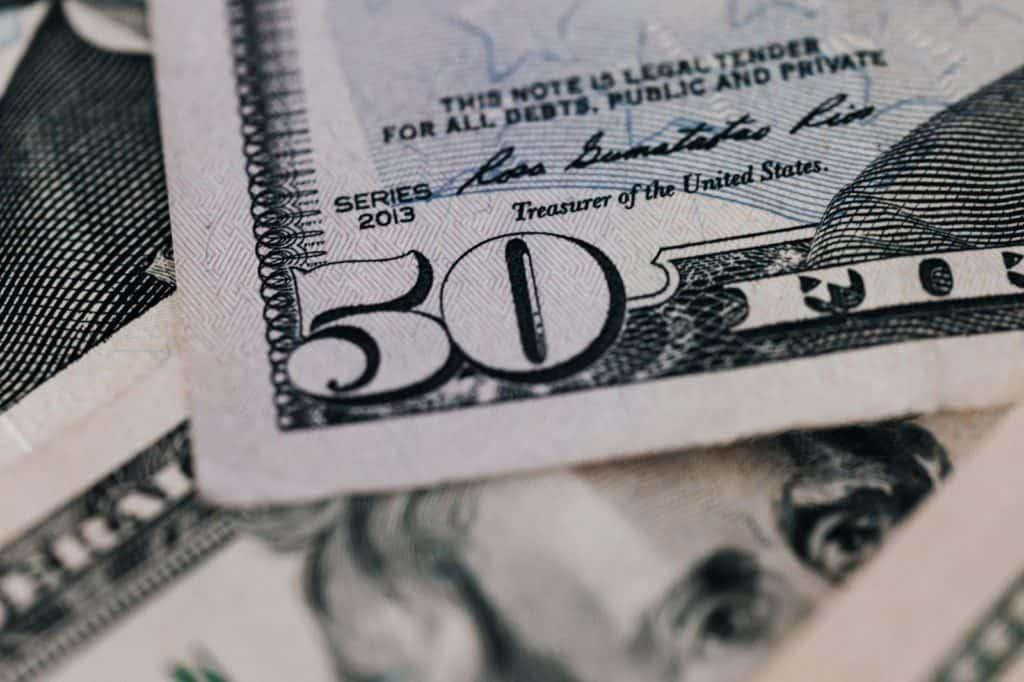 Photo of a $50 bill