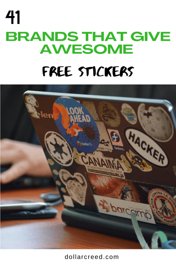 Pin Image of Free Stickers