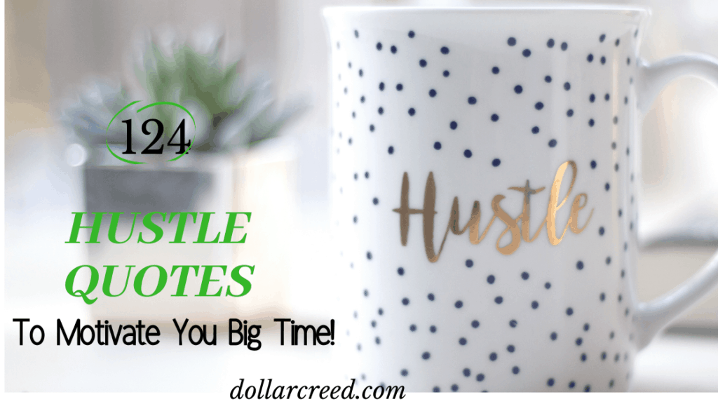 image of hustle quotes