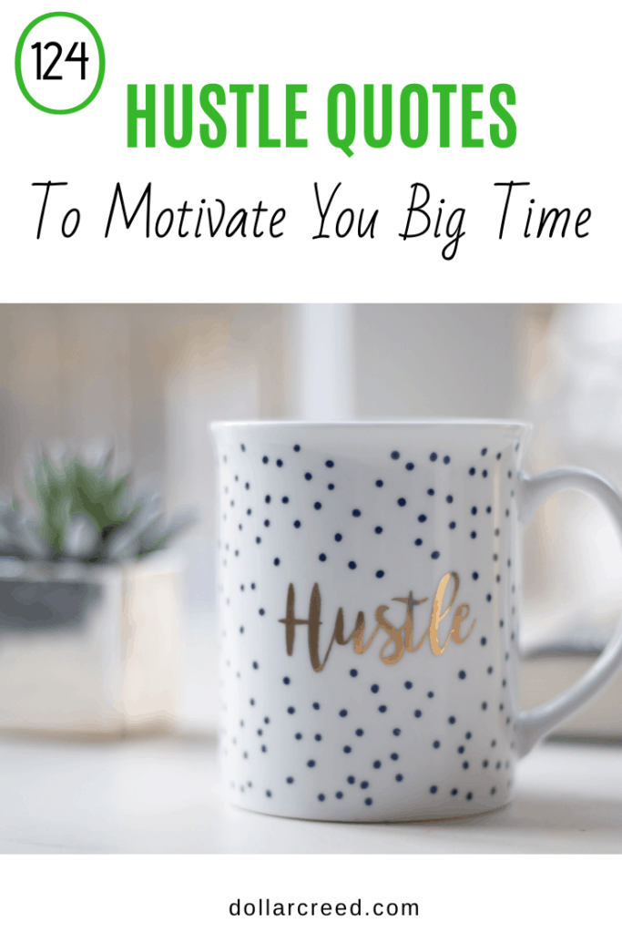 Pin Image of hustle quotes