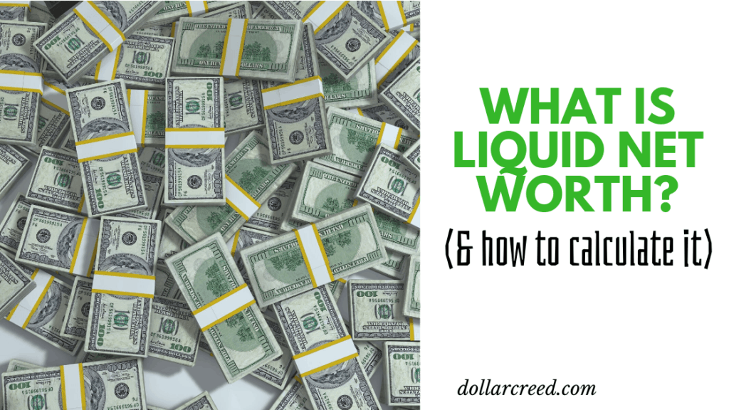Image of Liquid Net Worth