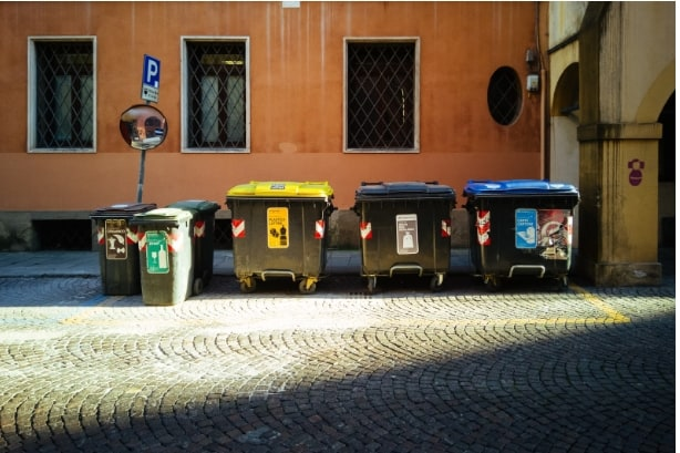 Photo of dumpsters