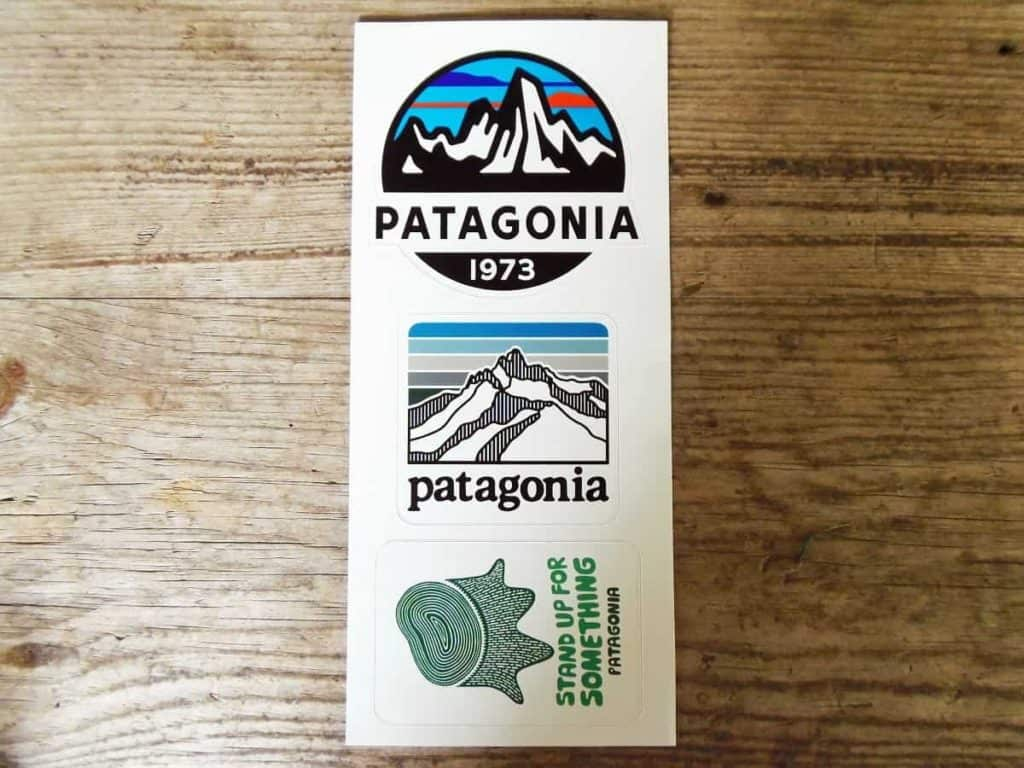 Photo of Patagonia free stickers