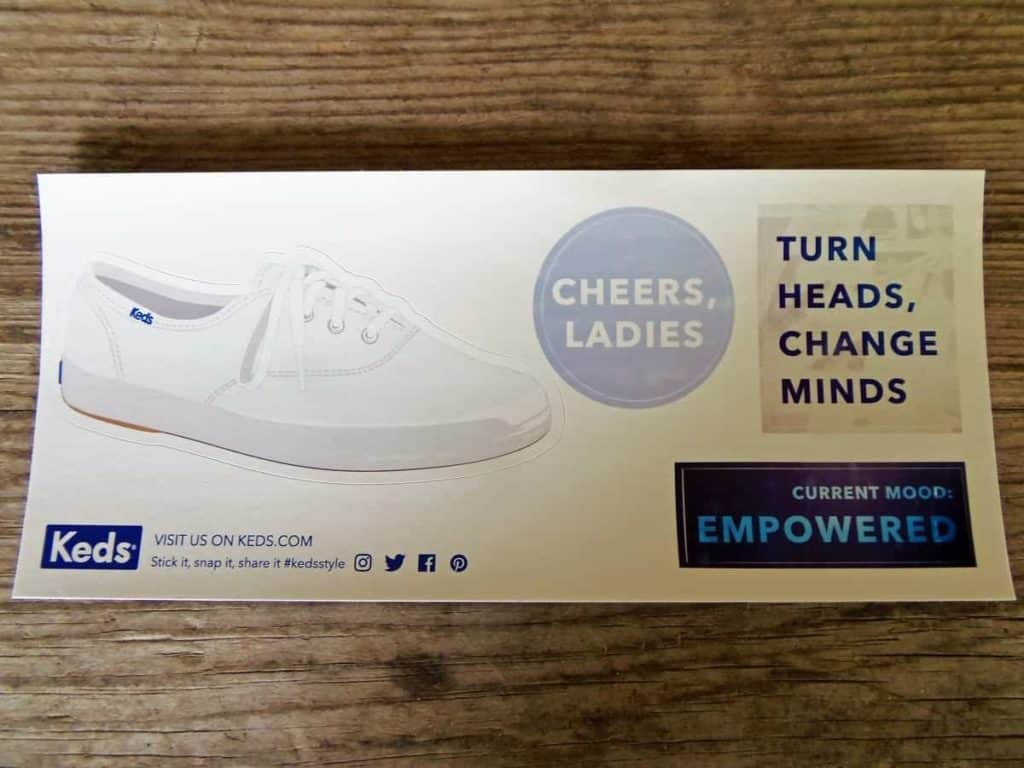 Photo of Keds stickers