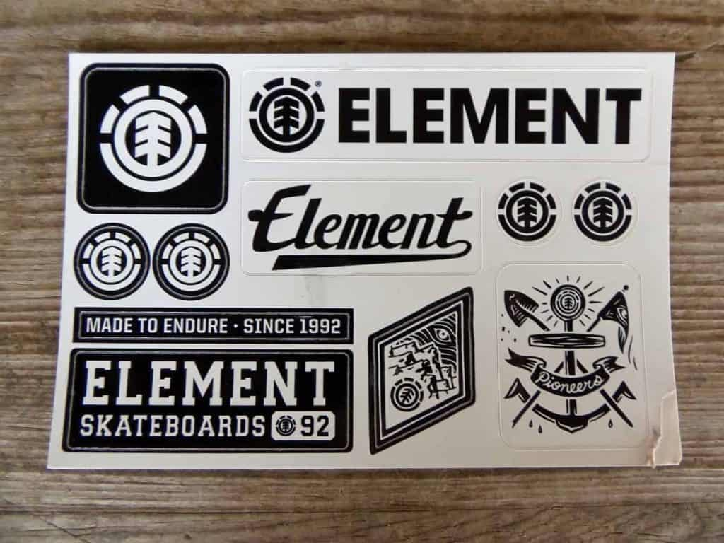 Photo of Element's Free stickers