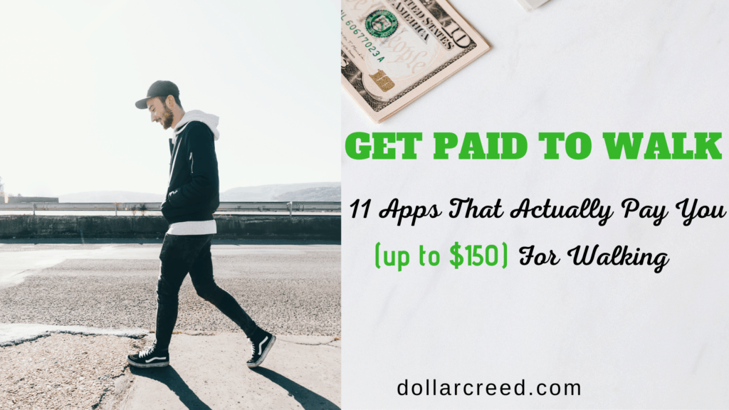 Image of get paid to walk