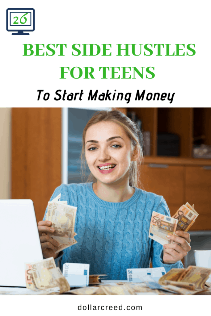 Pin Image of Side Hustle For Teens