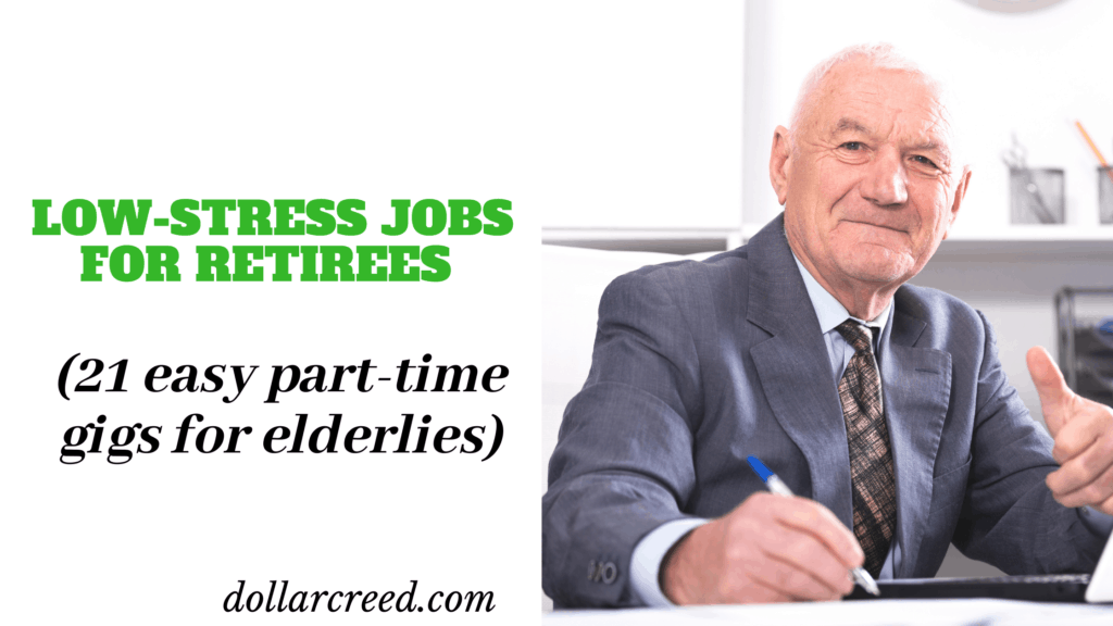 Image of jobs for retirees