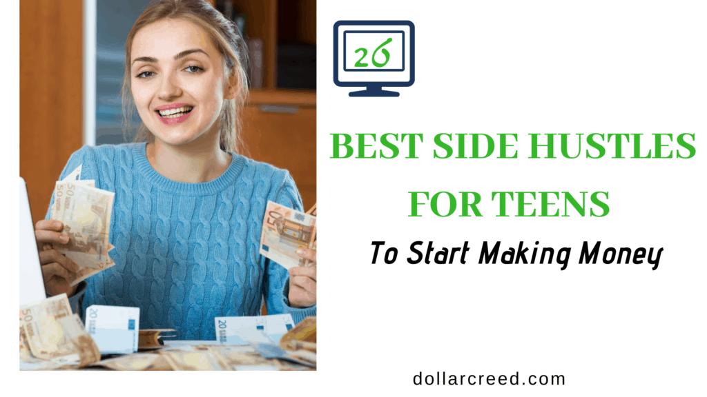 image of side hustles for teens