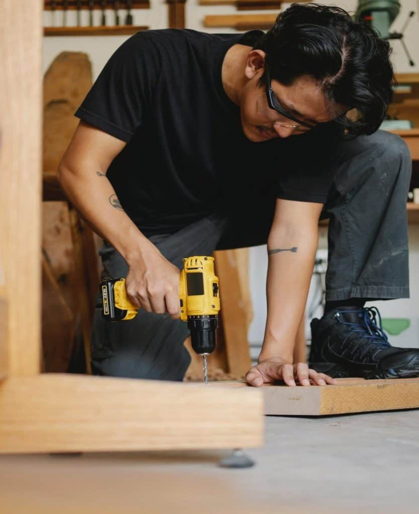 Photo of a handyman; doing odd jobs is another great option for retirees