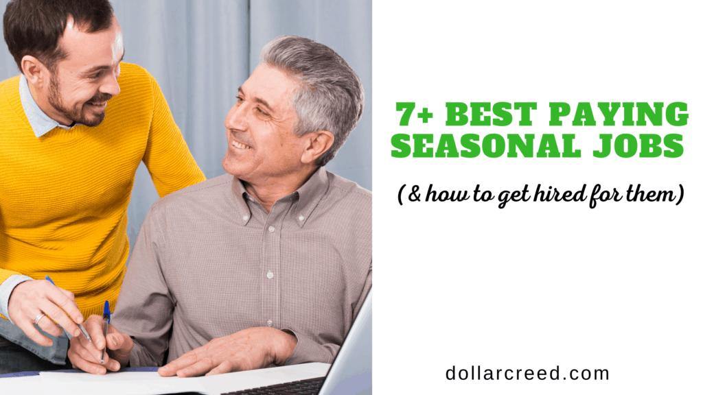 Image of Seasonal jobs