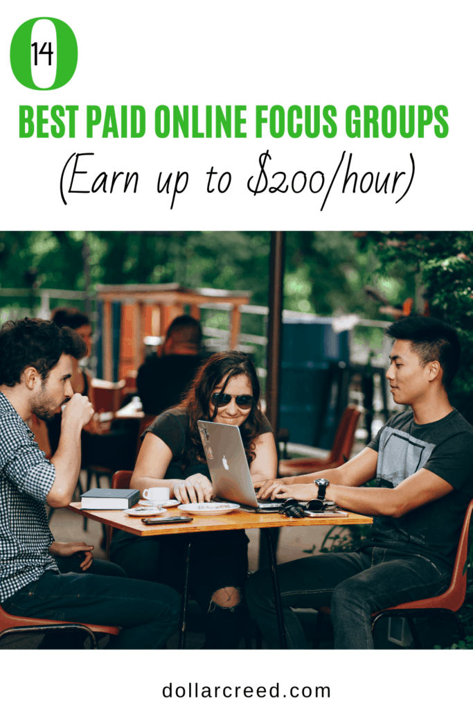 Pin Image of paid focus groups