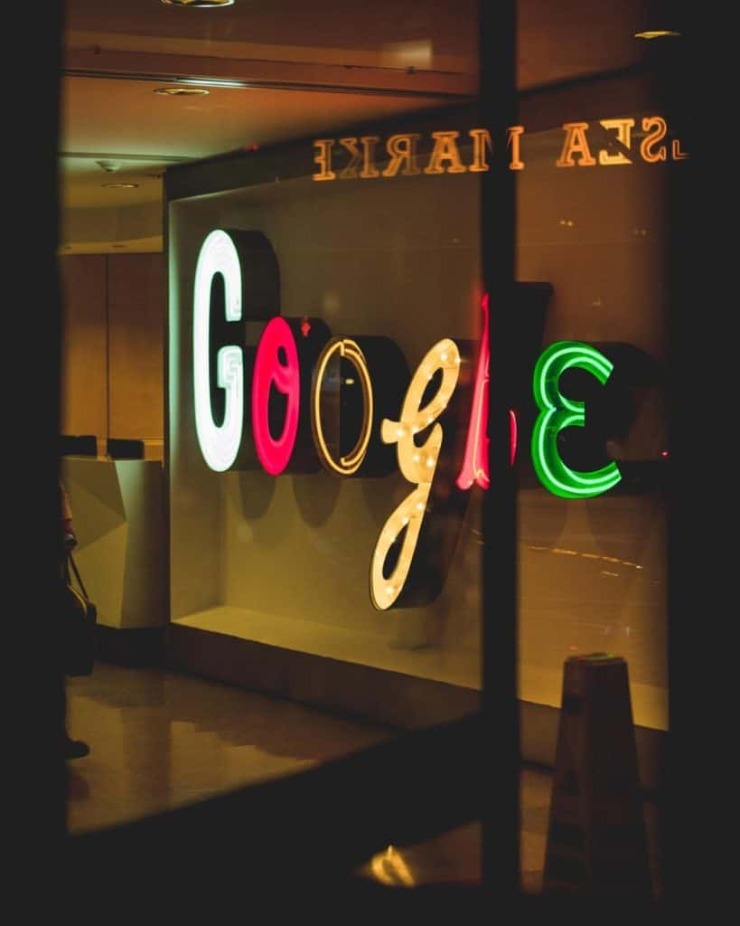 Photo of Google logo; Google ad sense is a great way to get paid to advertise
