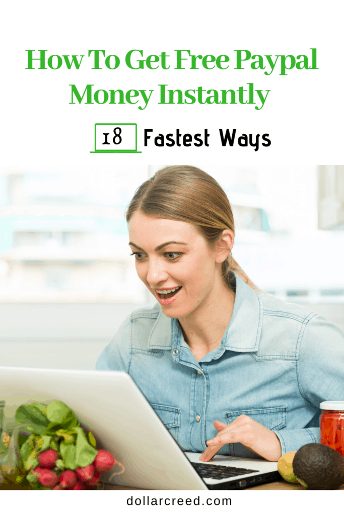 Pin image of how to get free paypal money instantly