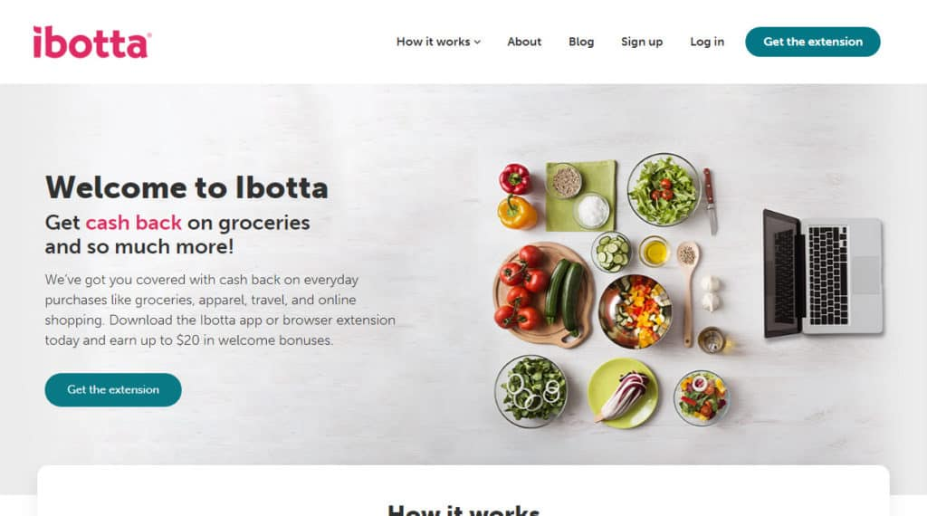 Photo of Ibotta's site. The question is 'Is Ibotta Legit? '