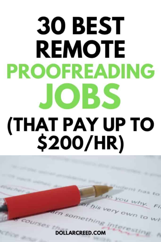 Oin image of remote proofreading jobs