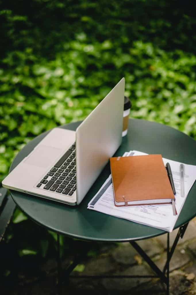 Photo of a laptop - the tool you need for remote proofreading jobs