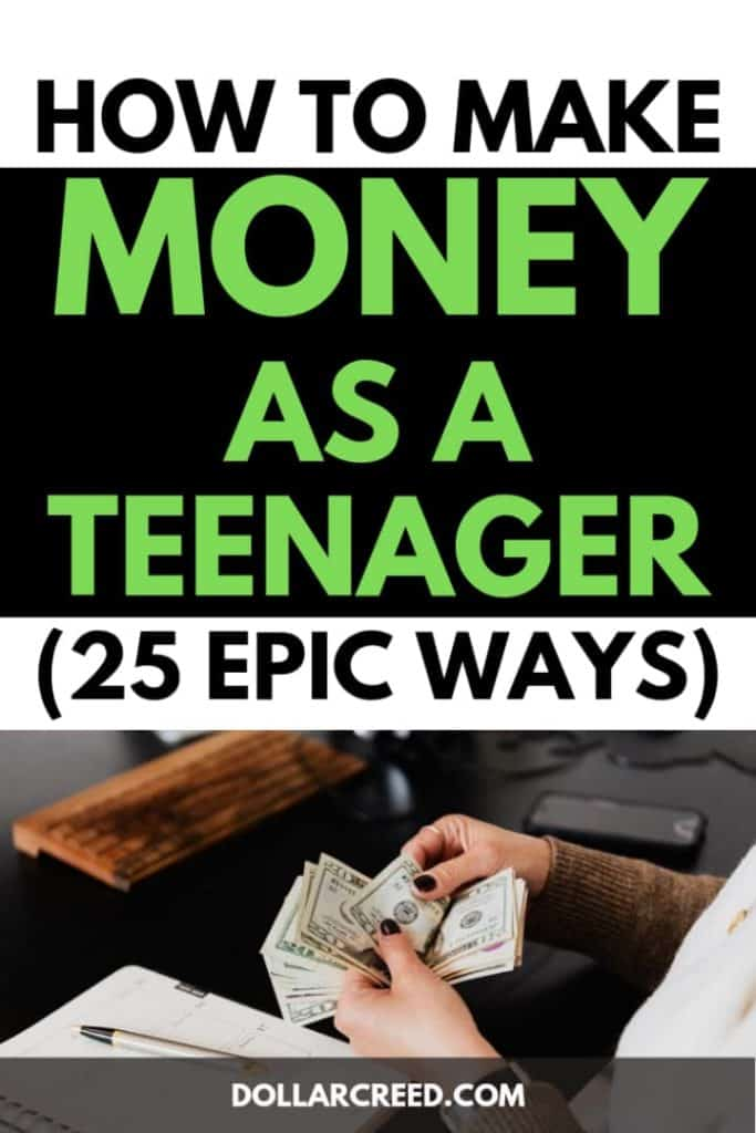 Pin image of how to make money as a teenager