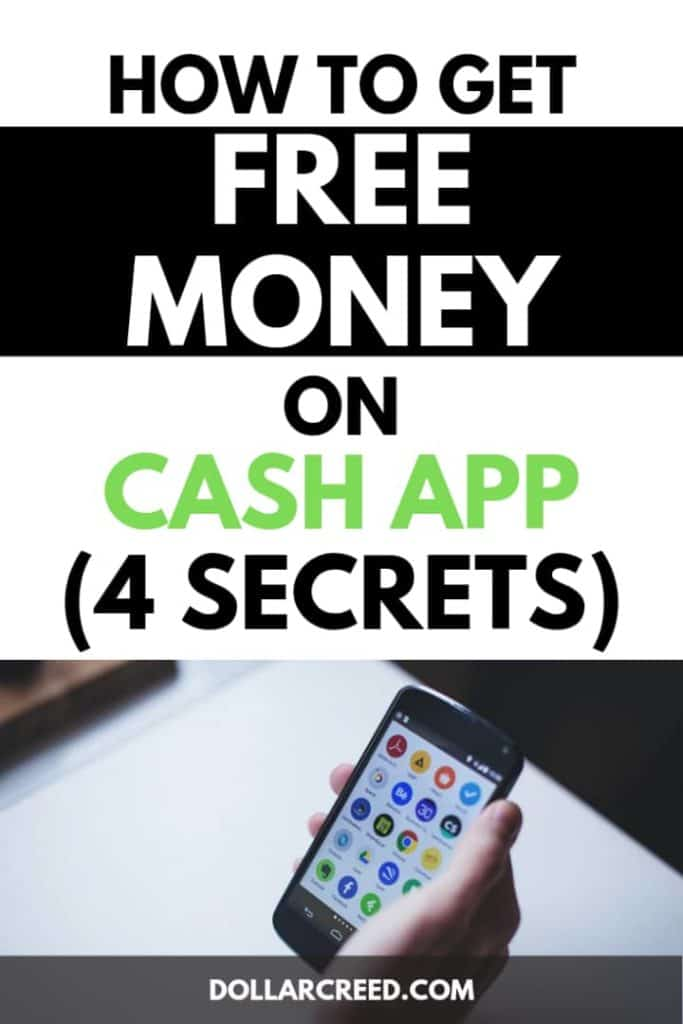 Pin image of how to get free money on cash app