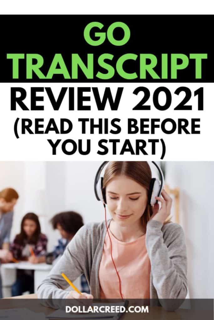 Pin image of gotranscript review