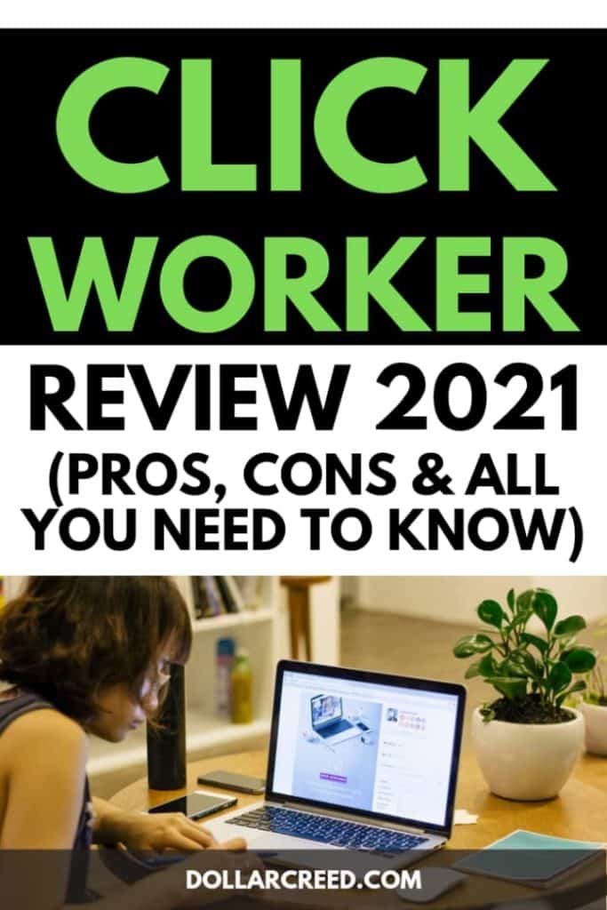 Pin image of clickworker review