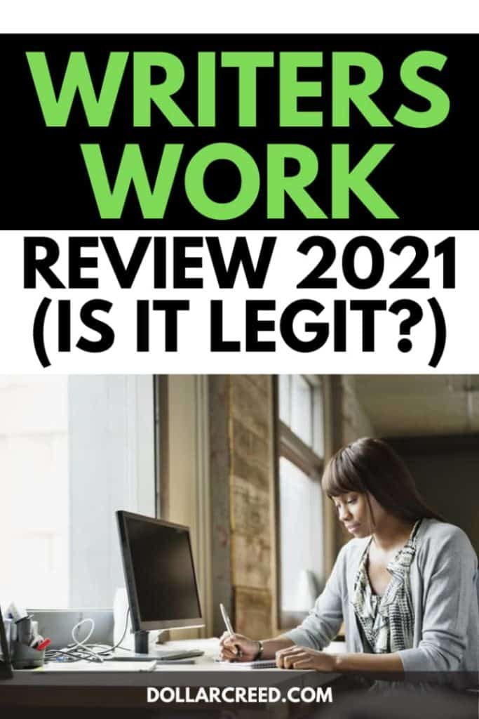 Pin image of Writers Work review