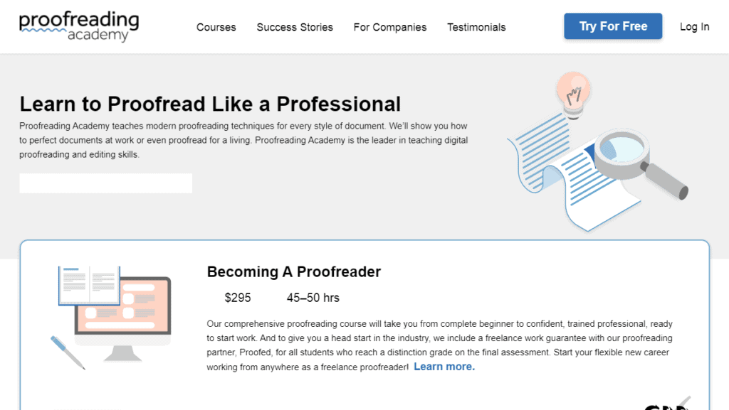 Proofreading is a way to make money as a teenager