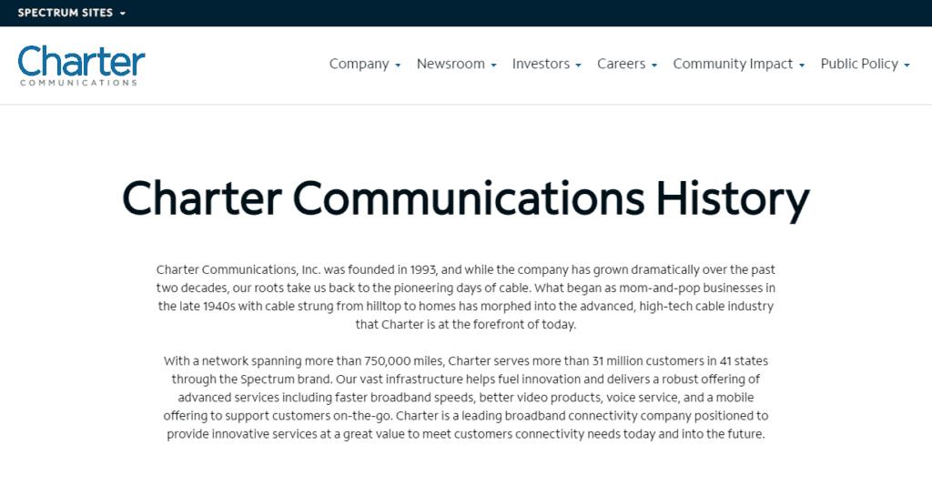 Photo of 11 charter communications profile