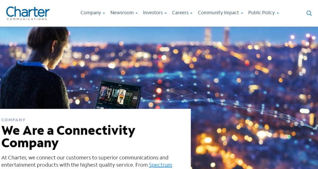 Photo of 11 charter communications website