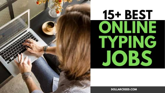 Image of online typing jobs