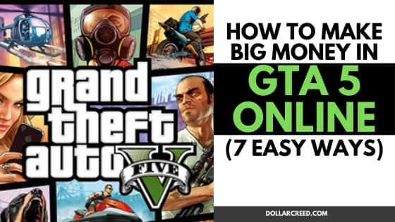 Image of How to make money in gta 5 online