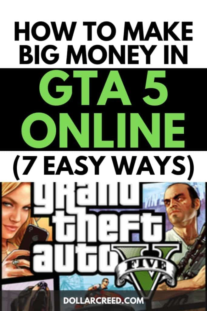 Pin image of how to make money in gta 5 online