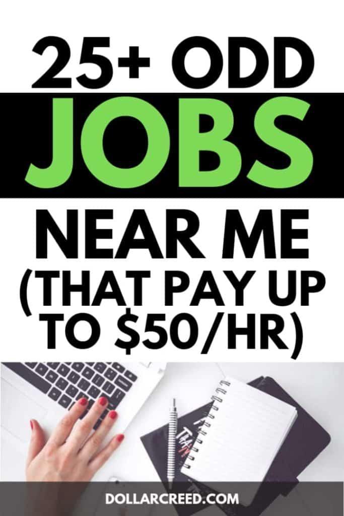 Pin image of odd jobs near me