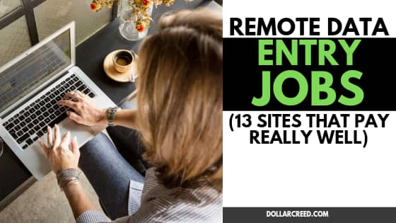 Image of data entry jobs