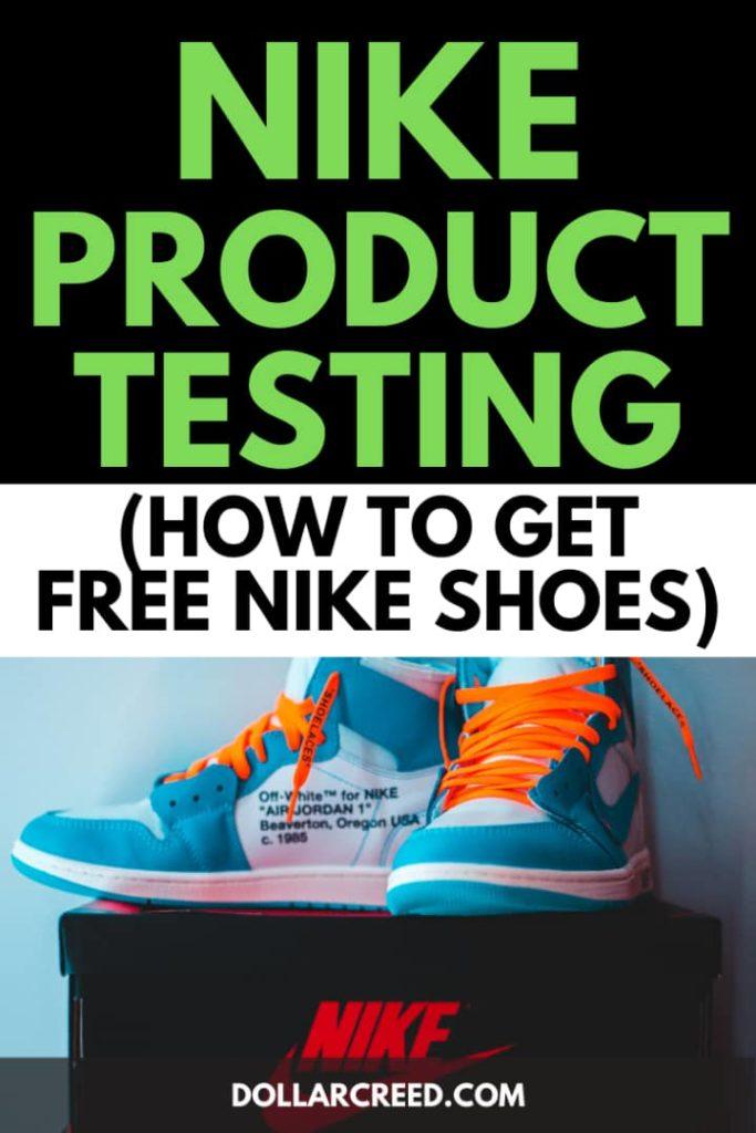 Pin image of Nike Product Testing